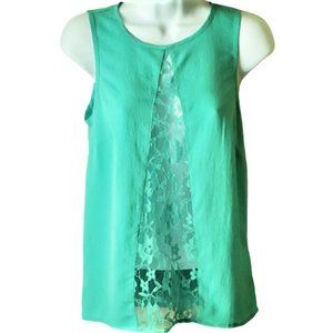 NWT ASOS Lace Front Tank Top Size 2